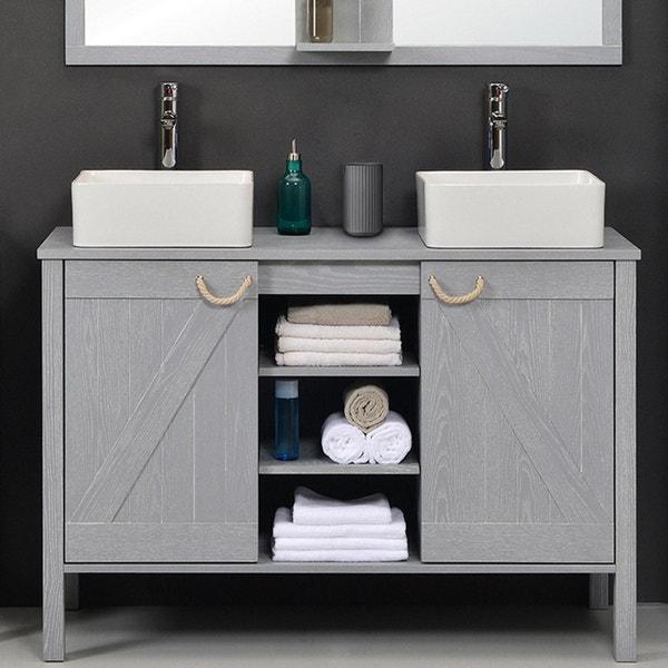 meuble de salle de bains meuble vasque miroir colonne rangement au meilleur prix leroy. Black Bedroom Furniture Sets. Home Design Ideas