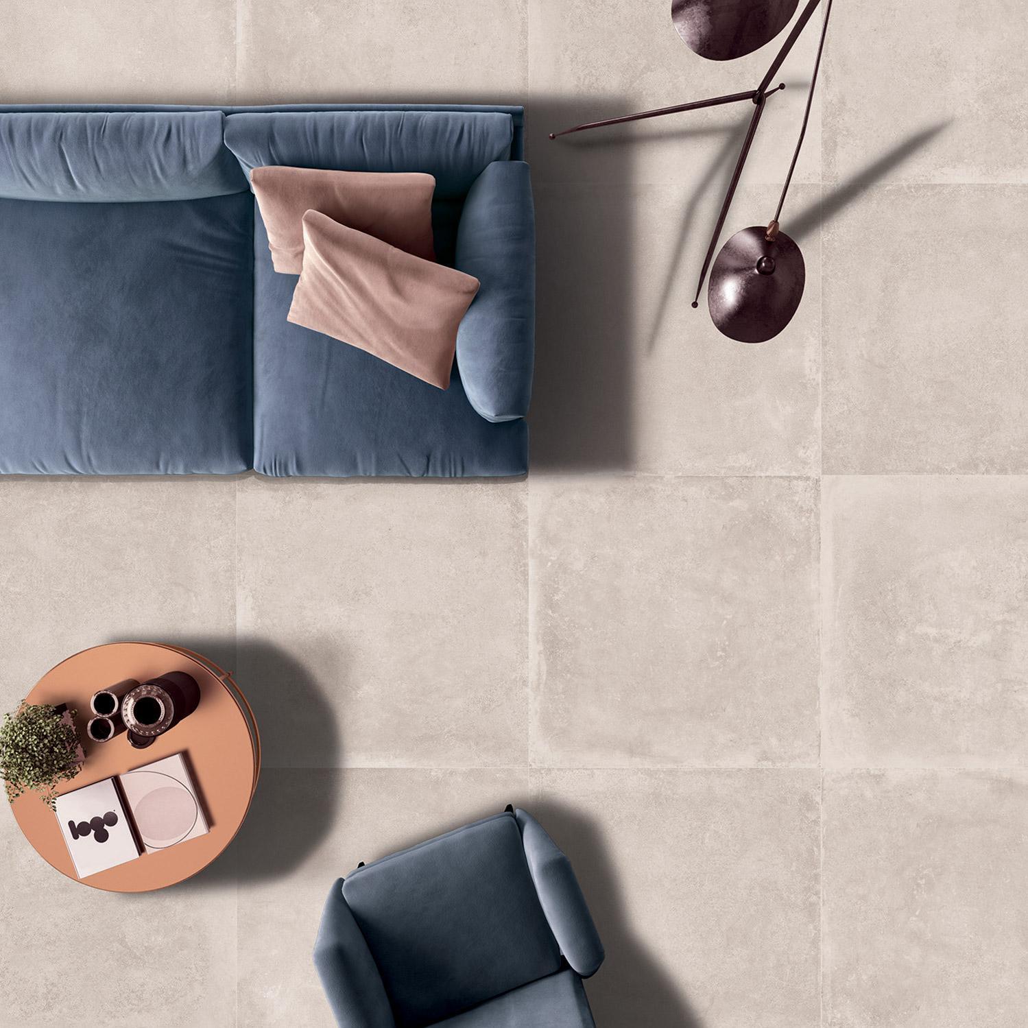 Carrelage sol et mur intenso grège 0003579 l.80 x L.80 cm EXCELLENCE - ARIANA GR