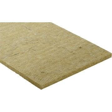 6 panneaux en laine de roche Rocksol expert ROCKWOOL 1.2x0.6m, Ep.30mm R=0.75