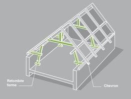 tout savoir sur l 39 am nagement des combles leroy merlin. Black Bedroom Furniture Sets. Home Design Ideas