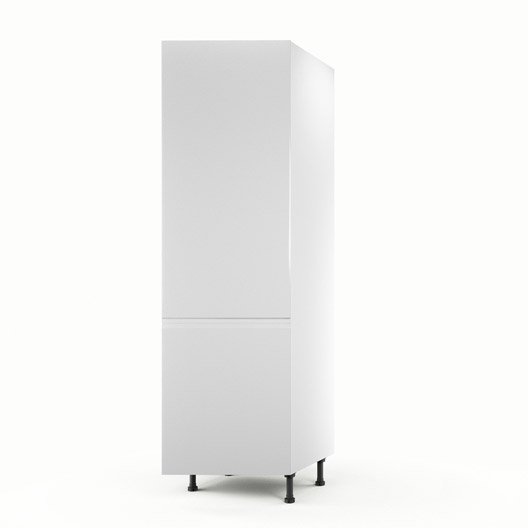 meuble de cuisine colonne blanc 1 porte graphic x x cm leroy merlin. Black Bedroom Furniture Sets. Home Design Ideas