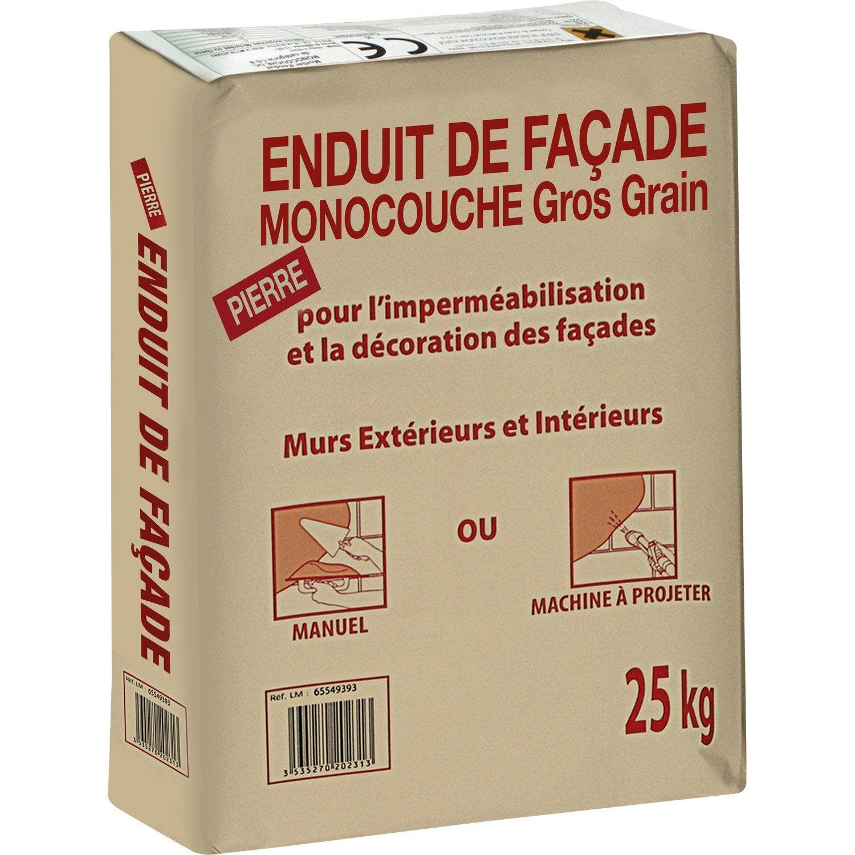 Enduit Monocouche Ton Pierre PRB 25 Kg ...