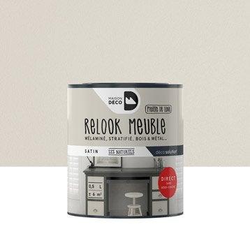 Peinture pour meuble RELOOK MEUBLE MAISON DECO, gris, 0,5 l