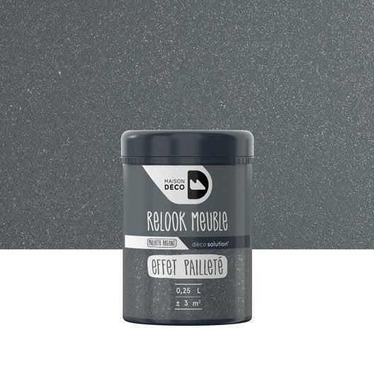 gel paillet paillet maison deco relook meuble transparent 025 l - Leroy Merlin Peinture Meuble