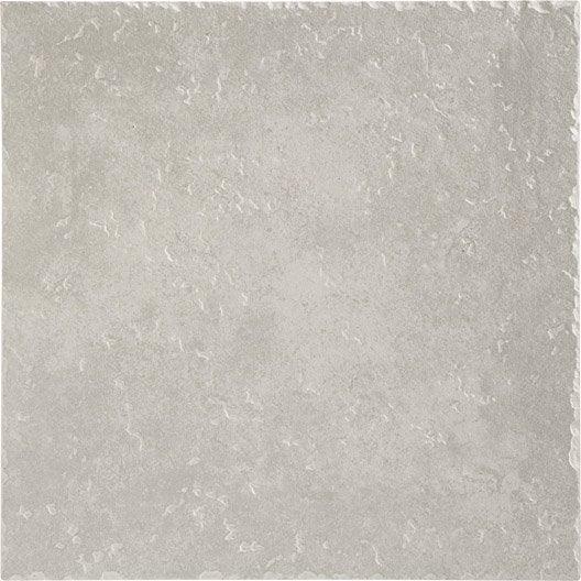 carrelage sol et mur gris clair effet pierre michigan x cm leroy merlin. Black Bedroom Furniture Sets. Home Design Ideas
