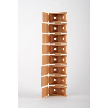 8 taquets d'assemblage beige