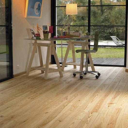 Comment poser un parquet clouer leroy merlin for Peindre du parquet en pin