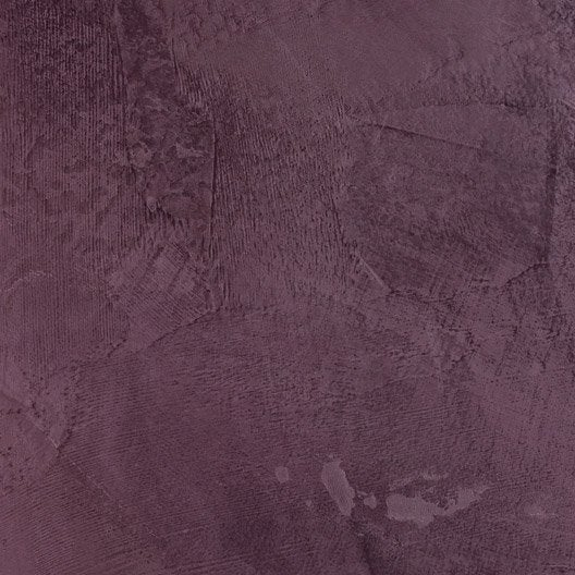 Peinture effet tadelakt luxens violet tulipe 2 5 l - Peinture effet tadelakt ...