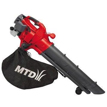 Aspirateur souffleur broyeur à essence MTD Bv3000g, 750 W 25 cm³