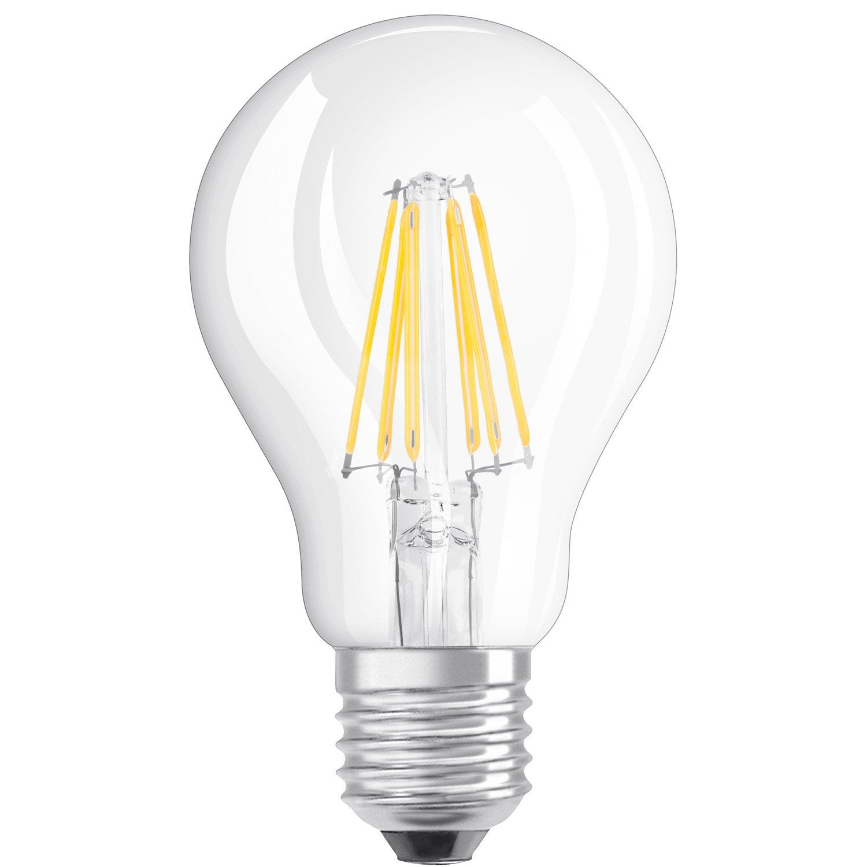 Standard Filament Bulb 6w Led 806lm Equiv 60w E27 2700k Osram