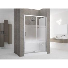 comment poser une paroi dans une douche l italienne leroy merlin. Black Bedroom Furniture Sets. Home Design Ideas