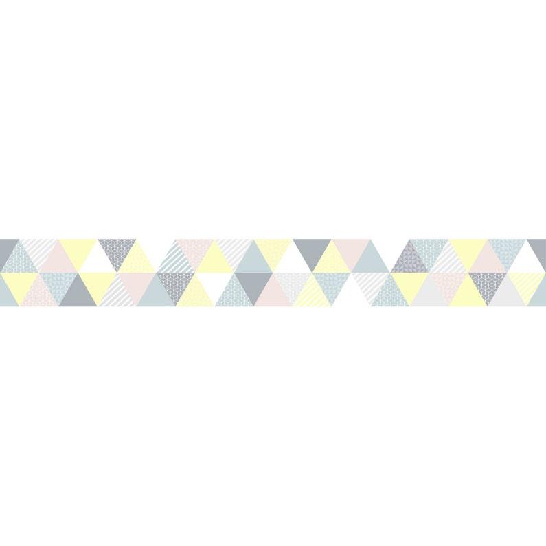 Frise Vinyle Adhésive Triangles Graham Brown L 5 M X L 15 Cm