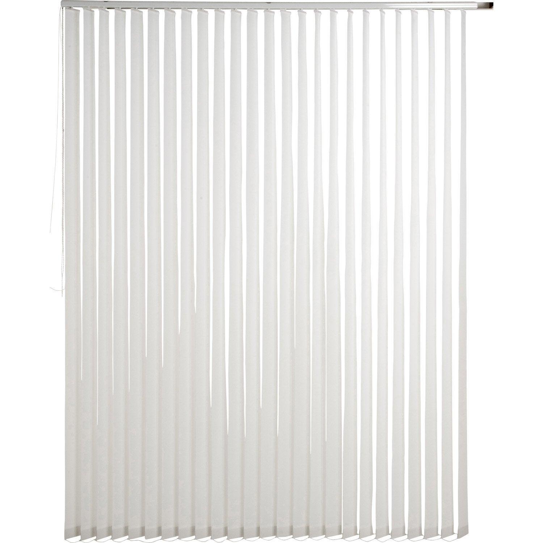 kit rail lamelles verticales orientables blanc blanc n 0 inspire 200 x 260cm leroy merlin. Black Bedroom Furniture Sets. Home Design Ideas