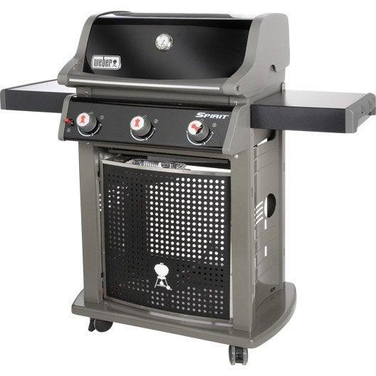 barbecue au gaz weber spirit classic e 310 3 bruleurs. Black Bedroom Furniture Sets. Home Design Ideas