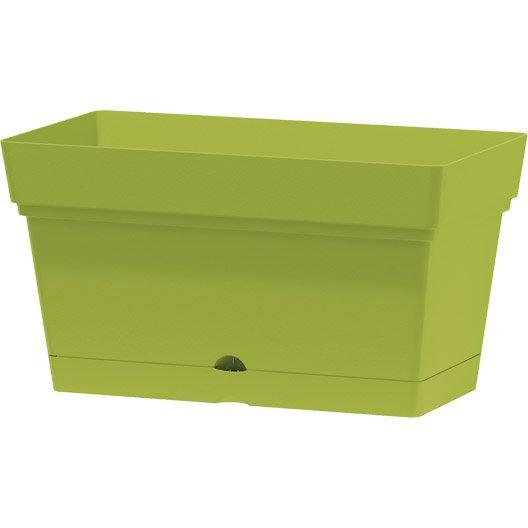 bac r serve d 39 eau en plastique deroma coloris olive 70 x 38 x 38 cm leroy merlin. Black Bedroom Furniture Sets. Home Design Ideas