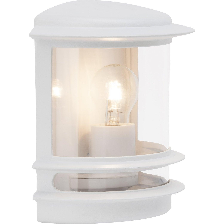 luminaire exterieur blanc. Black Bedroom Furniture Sets. Home Design Ideas