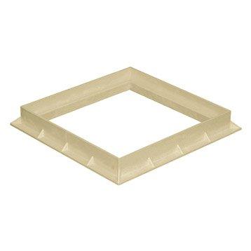 Cadre pvc sable FIRST PLAST, L.30 x l.30 cm
