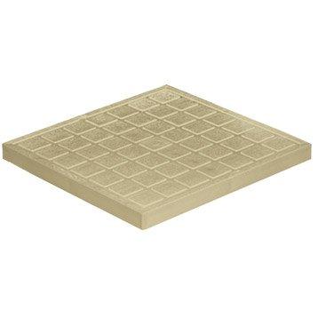 Tampon de sol antichoc pvc sable FIRST PLAST, L.40 x l.40 cm