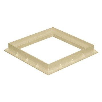 Cadre pvc sable FIRST PLAST, L.40 x l.40 cm