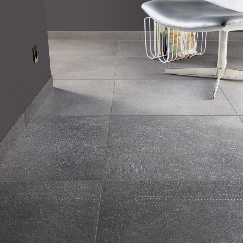 carrelage sol et mur gris fer effet b ton asphalte x