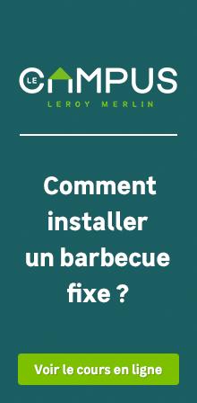 Installer un barbecue