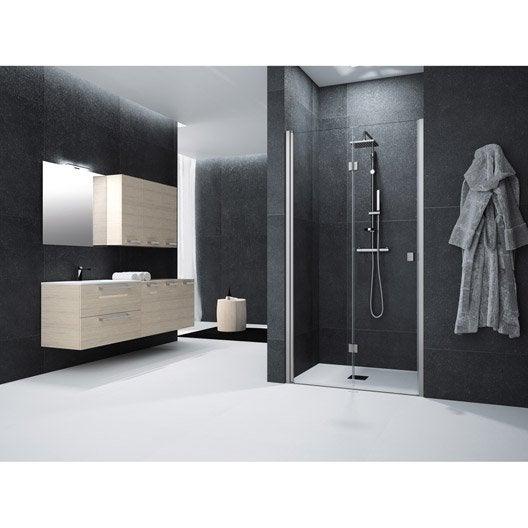 Porte de douche leroy merlin - Porte de douche 90 cm ...