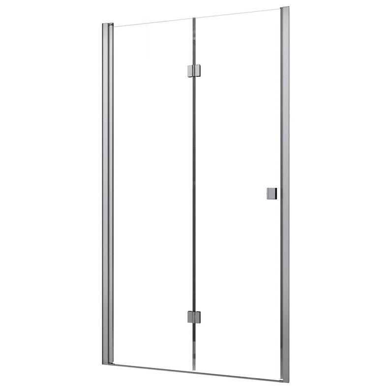 Porte De Douche Pivot Pliante 90 Cm Transparent Neo