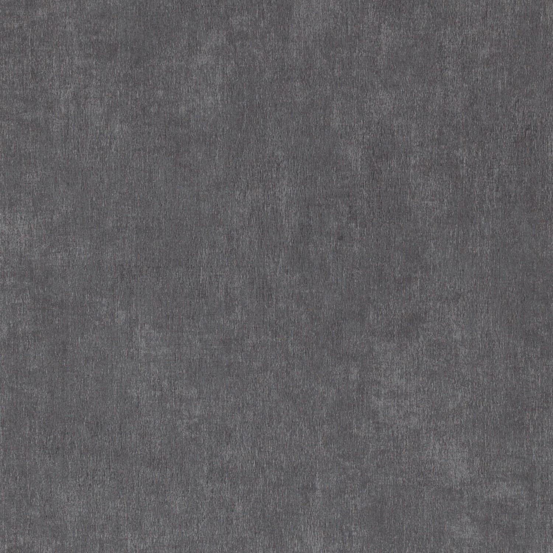 Papier Peint Vinyle Uni Chacran Bleu Nuit Leroy Merlin