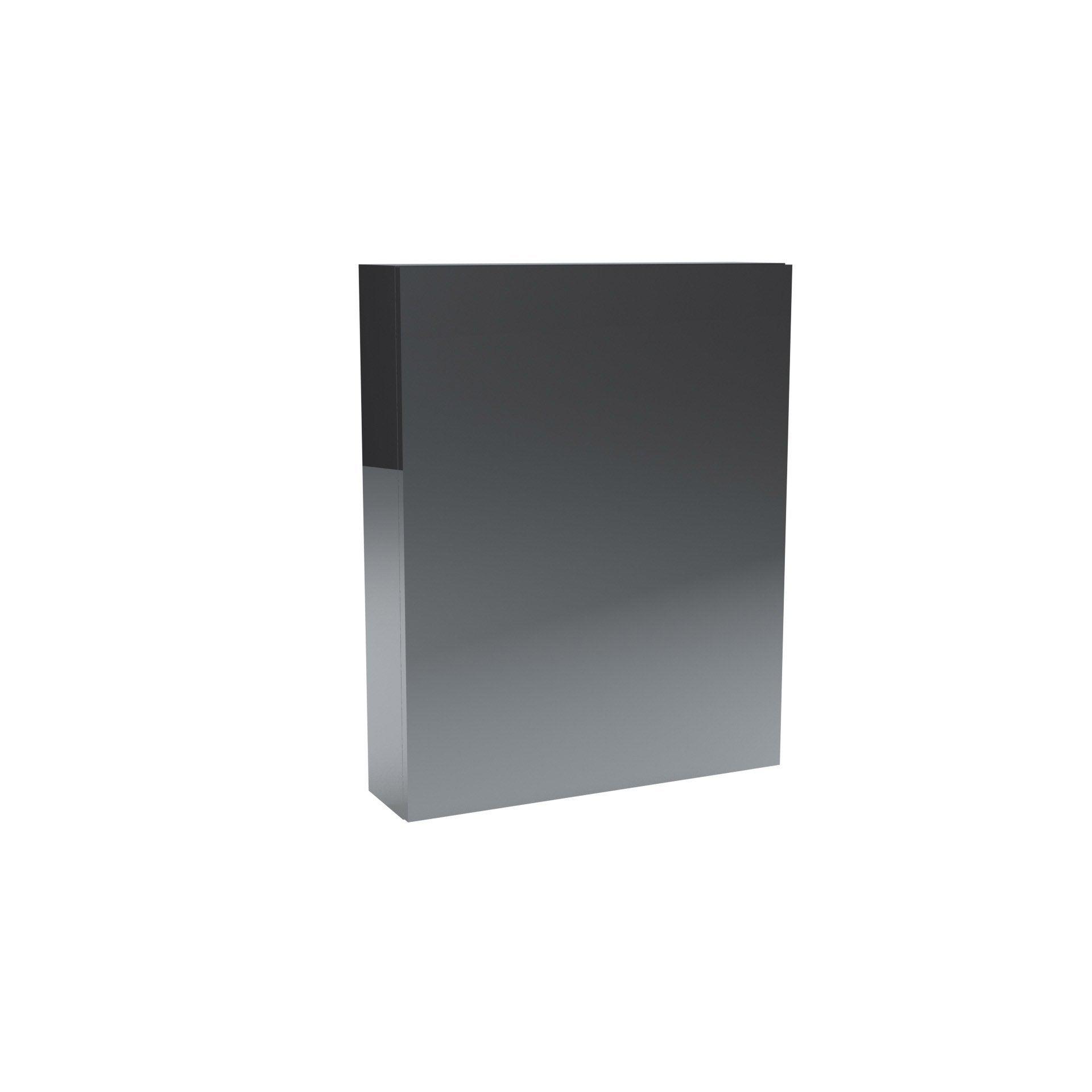 Armoire de toilette, 2P, l.60 x H.75 x P.14cm, , Remix