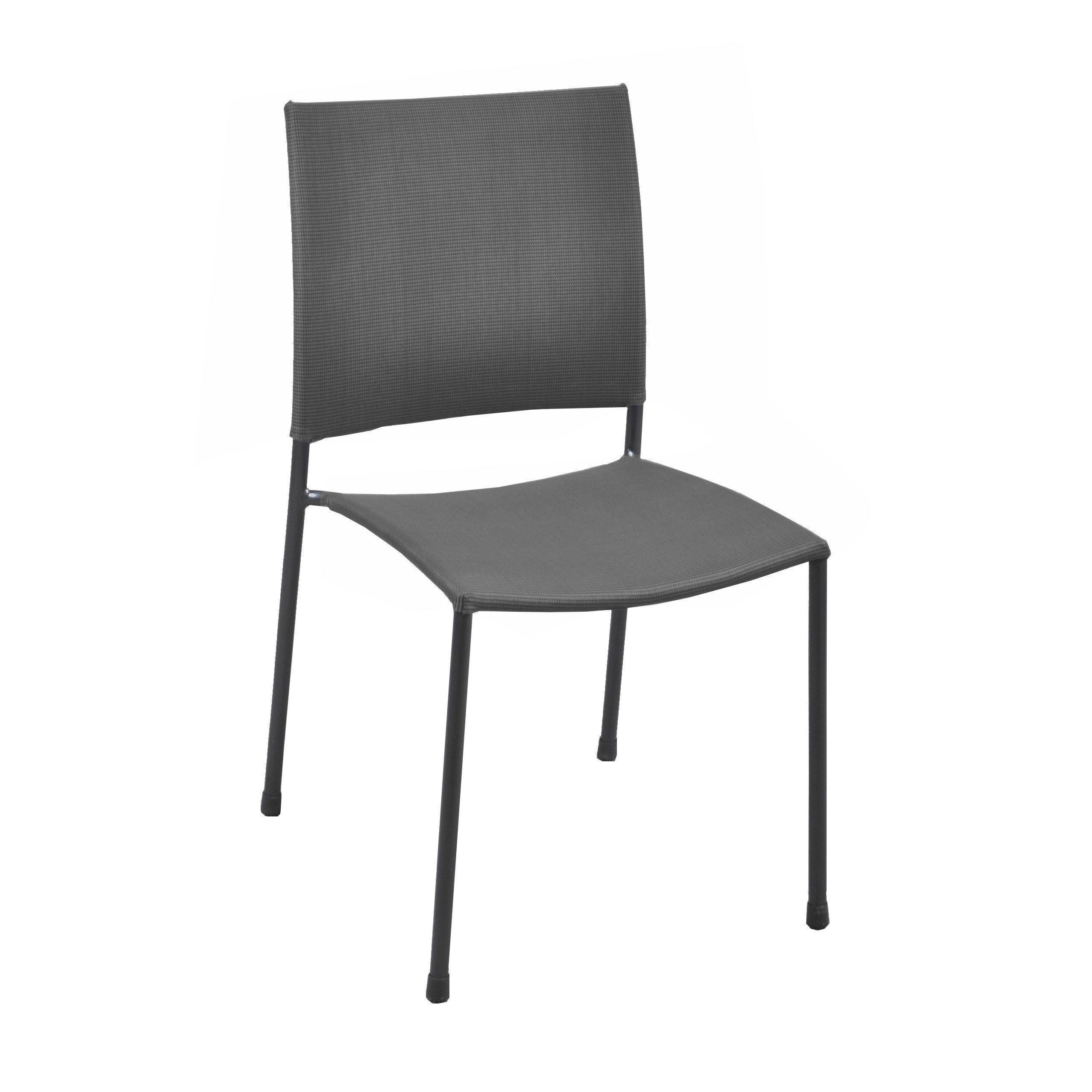 en Globe jardin Chaise acier de gris IeWEDH92Y