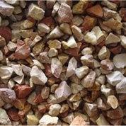 Graviers calcaire en pierre naturelle, rose, 8/14 mm, 25 kg
