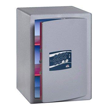 Coffre-fort haute sécurité à code STARK Garant, H50xl41.6xP40cm, 70L