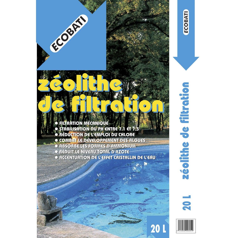 Zeolithe De Filtration 20 Kg Leroy Merlin