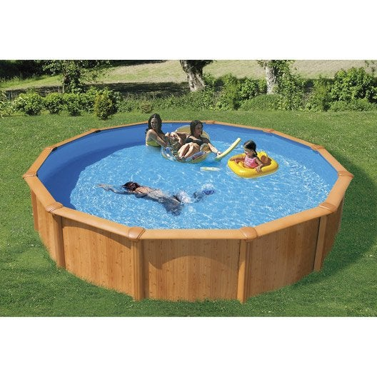 Piscine piscine et spa leroy merlin for Piscine hors sol diametre 3 50