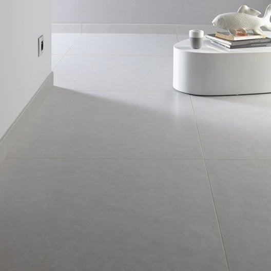 Carrelage sol et mur fer blanc effet b ton studio x l for Carrelage blanc mur