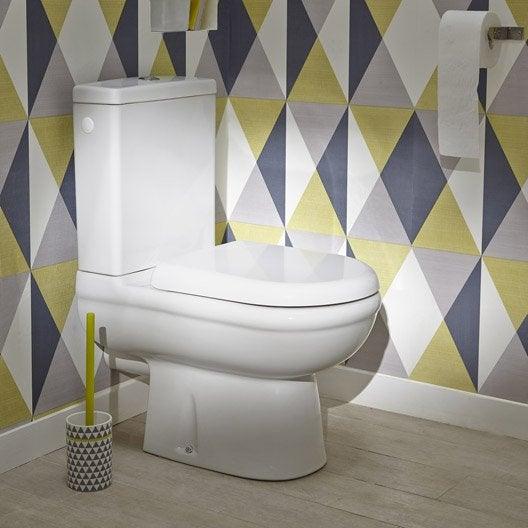Pack wc poser sortie horizontale ideal standard exacto leroy merlin - Canvas pvc witte leroy merlin ...