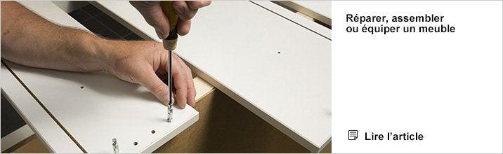 Comprendre Tout savoir sur l'assemblage d'un meuble