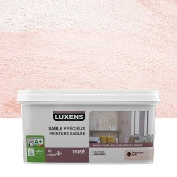 Peinture à effet, Sable précieux LUXENS, rose blush 6, 2 l