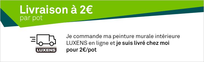 Opé Frais de port 2 euros LUXENS intérieure