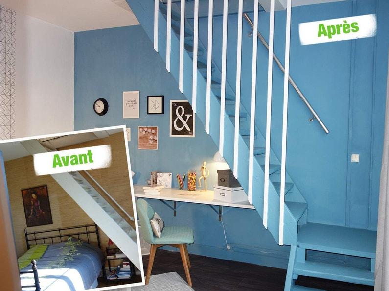 relooking sous escalier leroy merlin. Black Bedroom Furniture Sets. Home Design Ideas