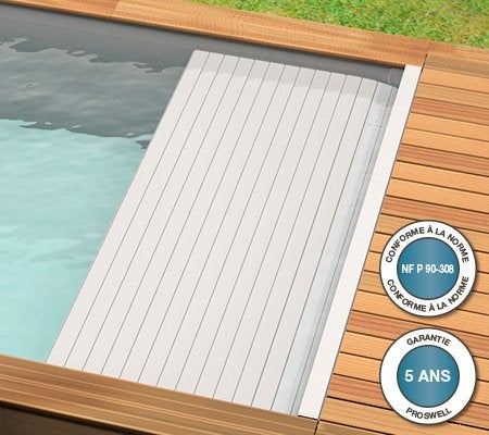 piscine hors sol bois urbaine proswell by procopi l 6 x l 2 5 x h m leroy merlin. Black Bedroom Furniture Sets. Home Design Ideas