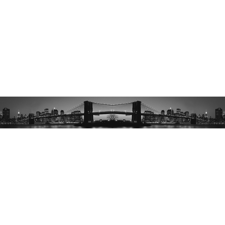 Frise vinyle adhésive Brooklyn L.5 m x l.15 cm   Leroy Merlin