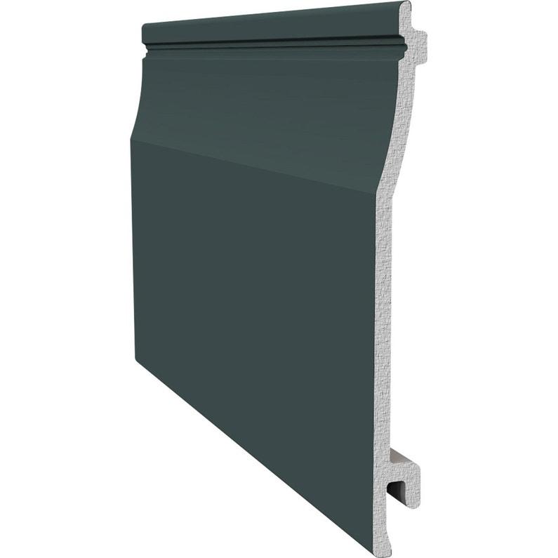 clin pour bardage pvc gris freefoam solid m leroy. Black Bedroom Furniture Sets. Home Design Ideas
