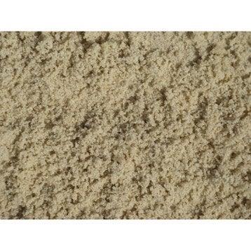 Sable décoratif pierre naturelle blanc Silice 0/2mm, 25 kg