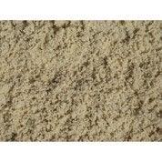 Sable décoratif silice en pierre naturelle, blanc, 0/2 mm, 25 kg