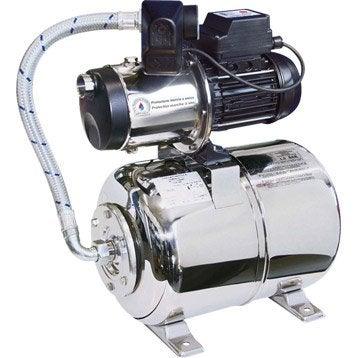 Surpresseur automatique FLOTEC Multipress 4SX logicsafe 24L, débit max. 5000 L/h