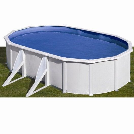 piscine hors sol acier san clara l 5 x l 3 x h 1 2 m leroy merlin. Black Bedroom Furniture Sets. Home Design Ideas