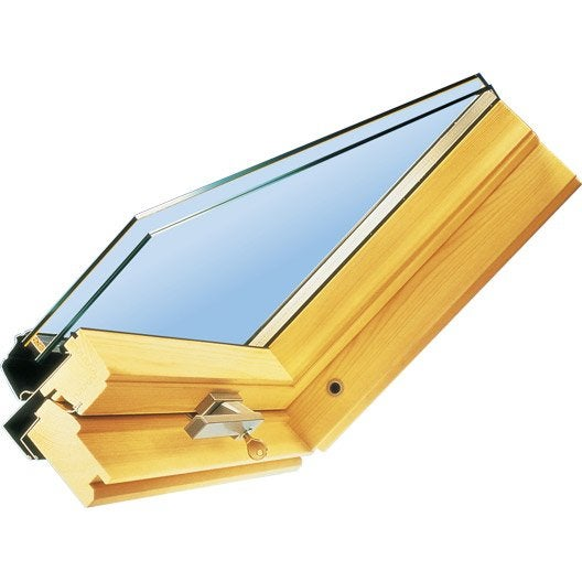 Vitrage standard 24 mm velux x cm leroy merlin for Prix fenetre de toit velux