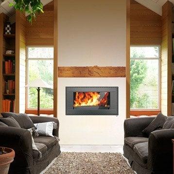 po le bois po le bois po le granul s et chemin e leroy merlin. Black Bedroom Furniture Sets. Home Design Ideas