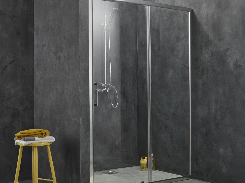 Installer une paroi de douche d 39 angle ou de face - Douche a l italienne leroy merlin ...